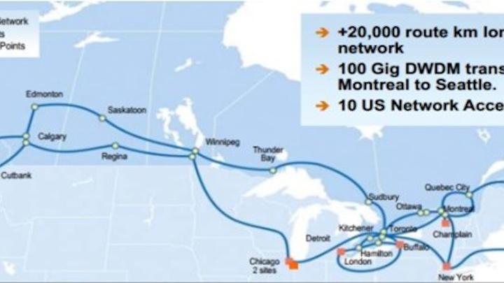 Zayo to buy Allstream for Canadian expansion | Lightwave Zayo Fiber Map on