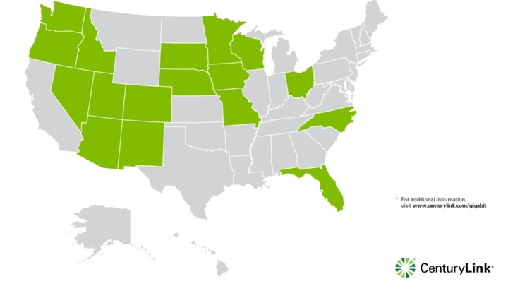 CenturyLink expands gigabit FTTH footprint to six more states ... on