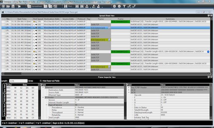 Iscsi Multi Pdu Screenshot