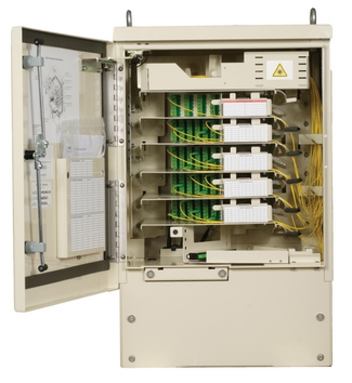 Tyco Electronics unveils new outdoor splitter cabinet