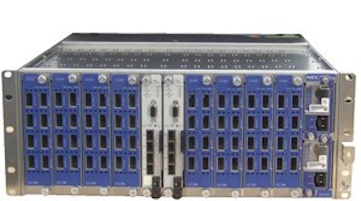 OLT, of which NEC's 10G-EPON system is comprised.
