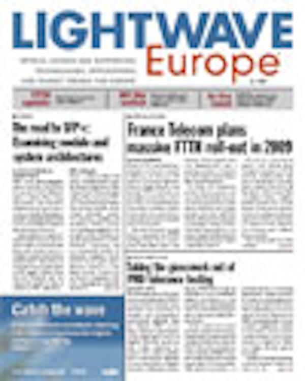 Lightwave Europe Volume 5, Issue 1