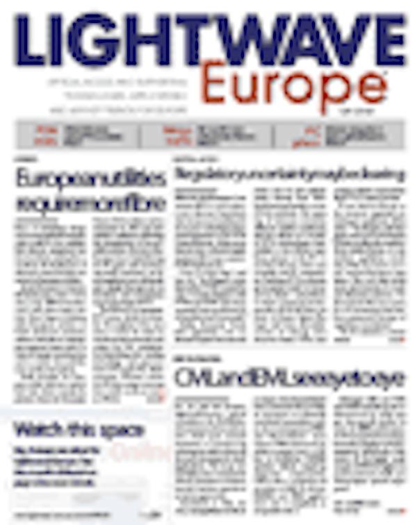 Lightwave Europe Volume 5, Issue 6