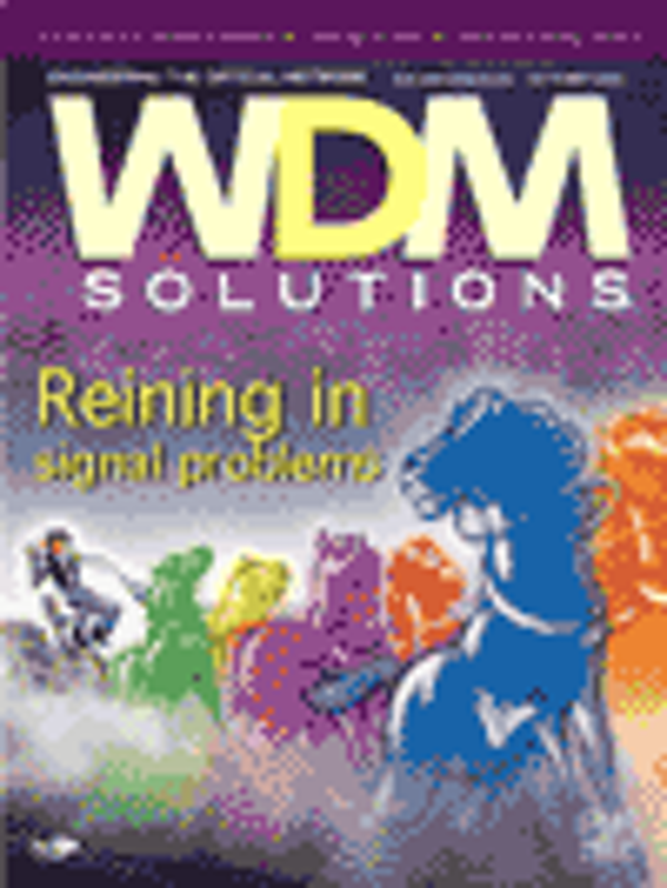 WDM Solutions Volume 4, Issue 10