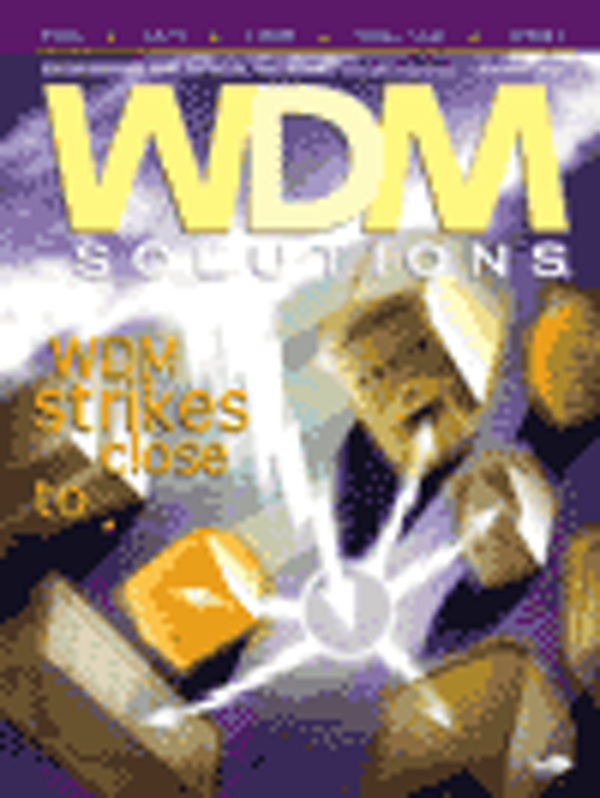WDM Solutions Volume 5, Issue 1