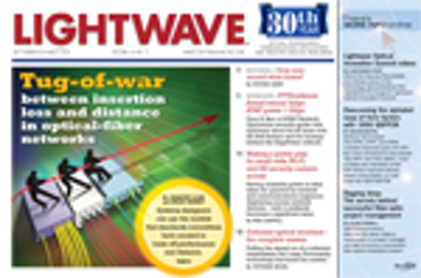 Lightwave Volume 31, Issue 5