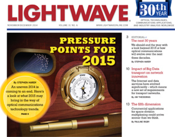 Lightwave Volume 31, Issue 6