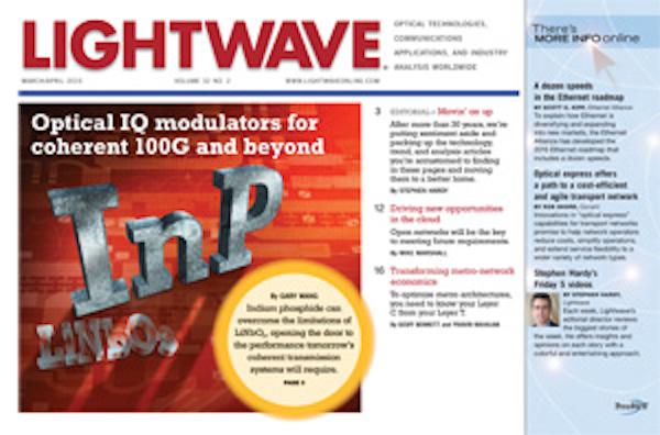 Lightwave Volume 32, Issue 2