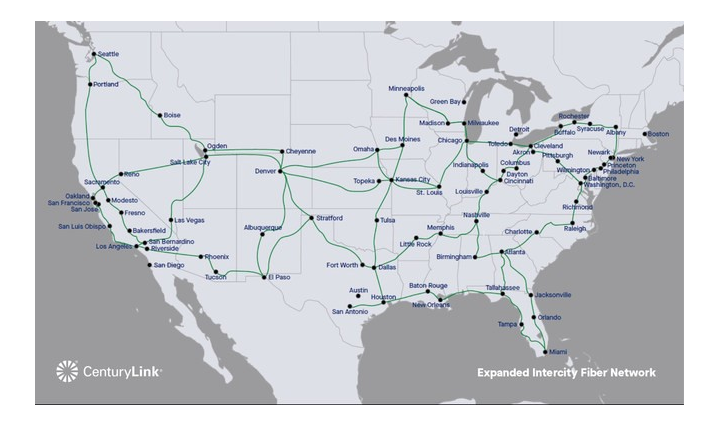 CenturyLink adding 4 7 million fiber miles to U S , European